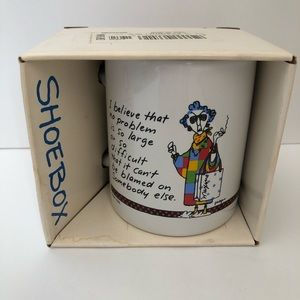 Hallmark Shoebox Maxine Coffee Mug Cup